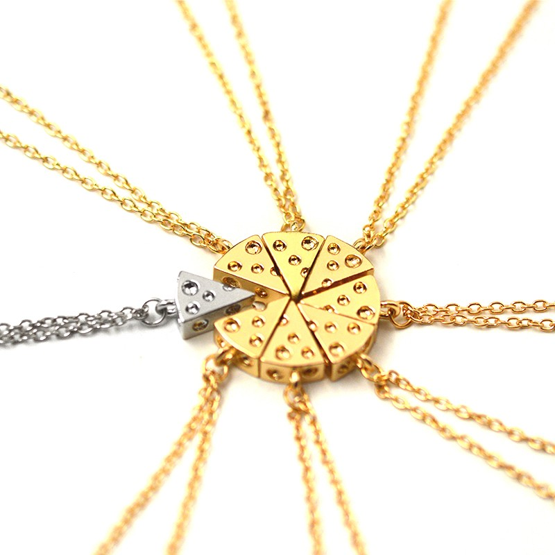 teraisompcz8d.ga: friendship necklaces for 6. From The Community. Necklaces for friends couples family hangs beautifully and the stainless Lux Accessories Multi Metal Pizza Pie Slice Best Friends BFF Necklace Set 8PC. by Lux Accessories. $ $ 8 95 Prime. FREE Shipping on eligible orders.
