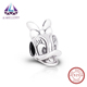 Manufacturer Wholesale 925 Sterling Silver Charms Duck Portrait for ladies silver jewelry
