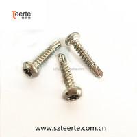 Pan head Torx self- drilling screws