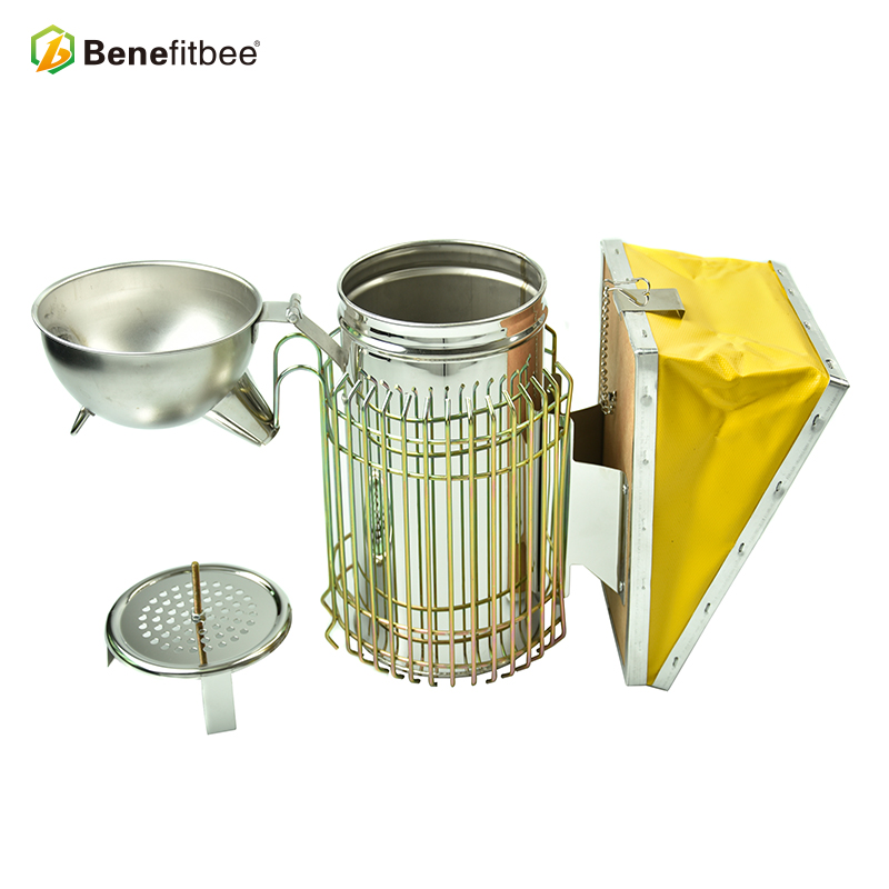 High-Quality Agricultural Equipment Beekeeping Tools Stainless Steel New Design Bee Smoker Machine For Beekeeping