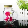 wholesale glass apothecary jars with handle