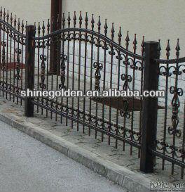 Fashional Decorative Steel Garden Fence Grills
