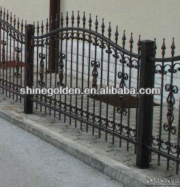 Fashional Amp Decorative Steel Garden Fence Grills Buy