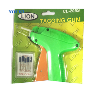 simple packing low price tag gun and needle