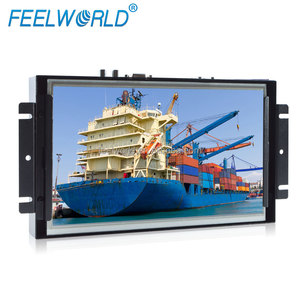 "10.1"" capacitive touch screen ATM Embedded System Industrial LCD Monitor"