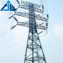 Manufacturer wholesale electric power transmission steel pipe lattice telecom tower
