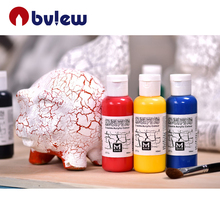 High quality cool crackle acrylic paint for artst painting