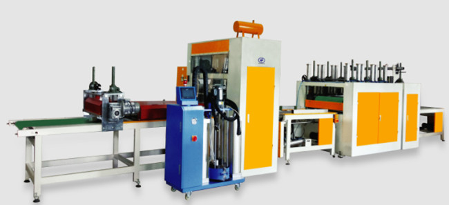 High speed automatic pur hot melt glue laminating machine