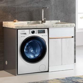 Modern Bathroom Furniture Washing Machine Storage Vanity Cabinet