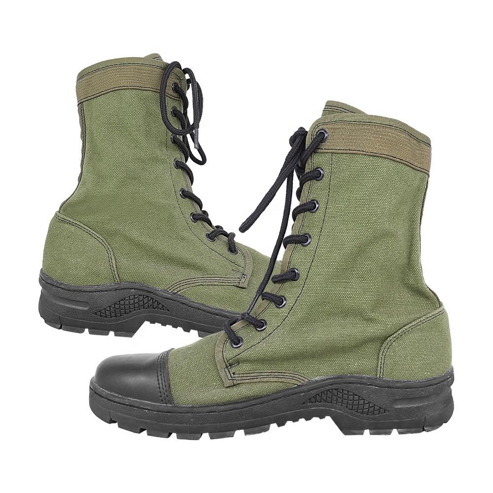 Cloth Combat Boots