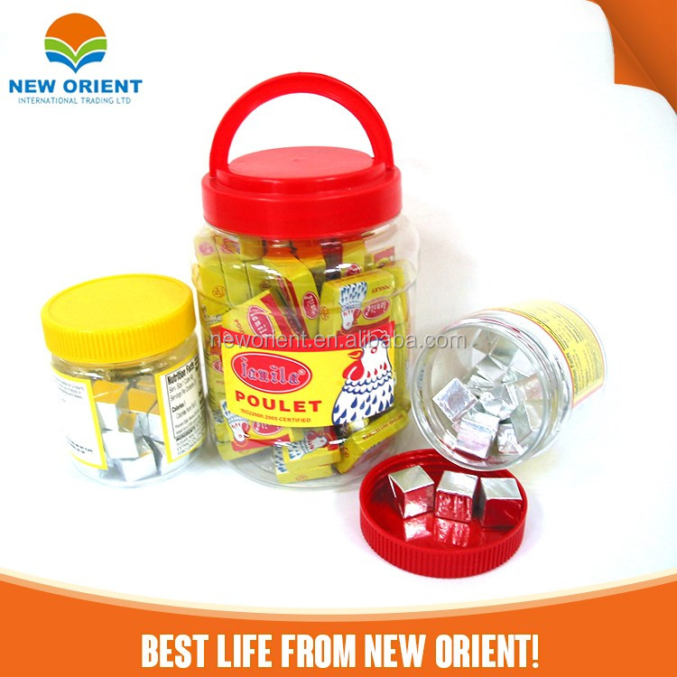 Halal Food Seasoning New Orient Chicken Testing Flavoring OEM Brand Bouillon Cube Seasoning