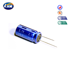 super capacitor 2.7V 30F ultracapacitor farad electric double layer capacitor kamcap China manufacture winding series