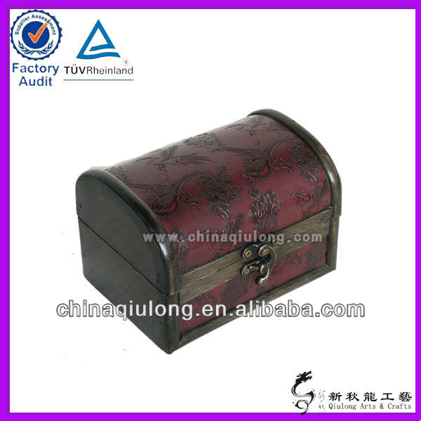 Chinese antique wooden box for gift