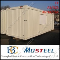 4 bedroom storage turnkey prefab container cabin/ housing