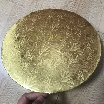 China Hotsale Cheap Corrugated Cake Board Die Out Cake Base Board