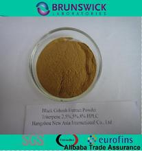 Pure Black Cohosh Extract 2.5% Triterpene Glycosides HPLC