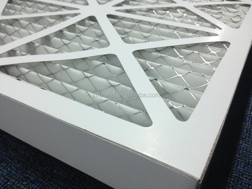 High Dust Capacity Cardboard Frame G3 G4 Air Condition Filters