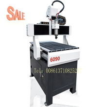 Guangzhou 6090 small size cnc engraving cutting router machine for wood acrylic pvc
