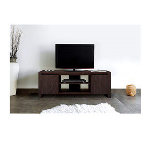 Contemporary TV Unit with 2 Cupboards mdf tv unit for Living Room modern design