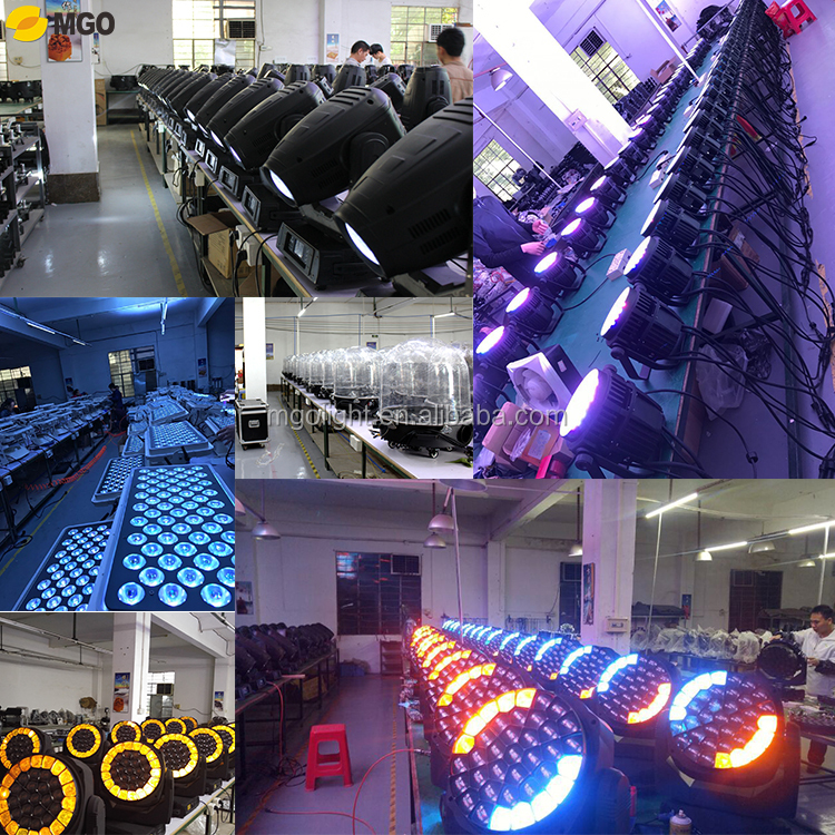 Pro shining Golden Color 36*3w led matrix dmx  dj stage  lights