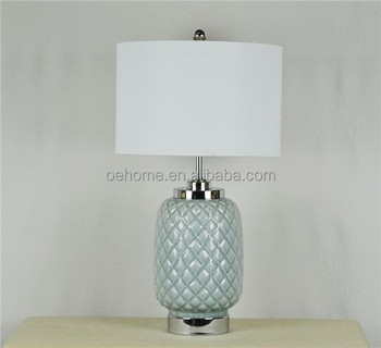 Chinese Style Egg Shaped Ceramic Table Lamp Buy Ceramic Table