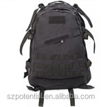 3D High quality hot sale military black backpack molle tactical for army