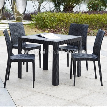Sedie E Tavoli Da Giardino In Vimini.Nuovo Disegno Famiglia Mobili Da Giardino Tavoli E Sedie In Rattan