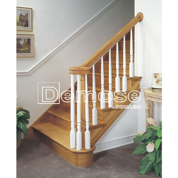 Round Wood Stair Railings/railing/fencing/fence