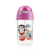 Hands free hdpe pet cow milk tea baby bottle with straw
