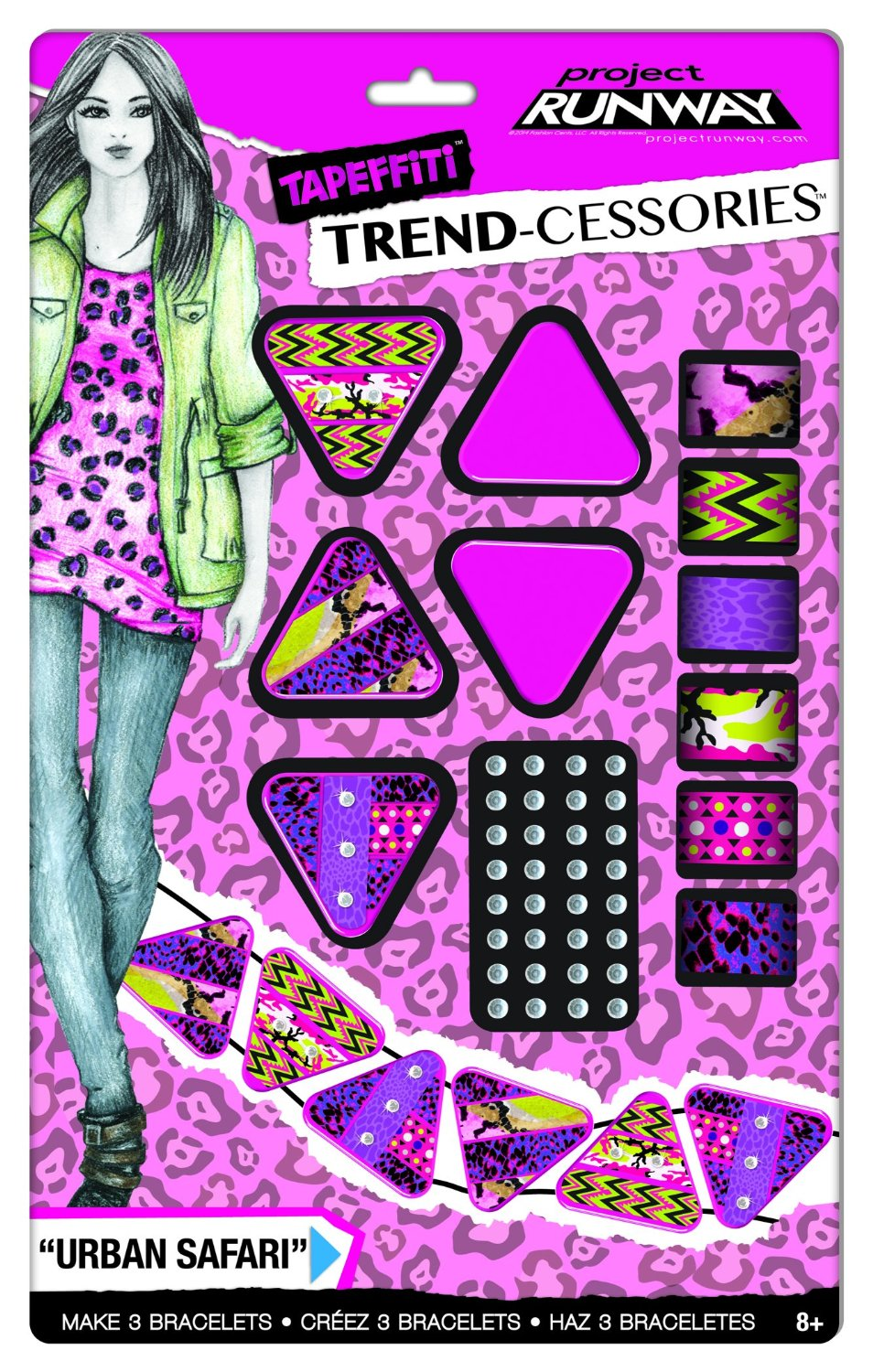 Buy Fashion Angels Project Runway Tapeffiti Trend Cessories Geo Mod Jewelry Kit In Cheap Price On Alibaba Com