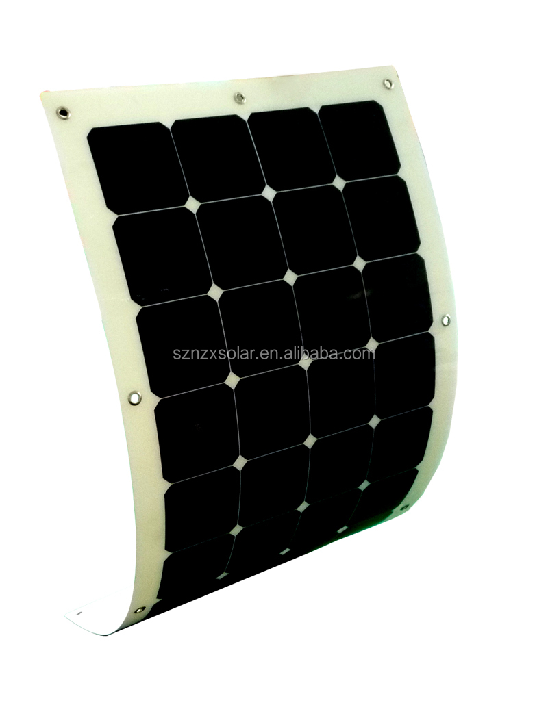 Semi Flexible Solar Panel Sunpower Cells