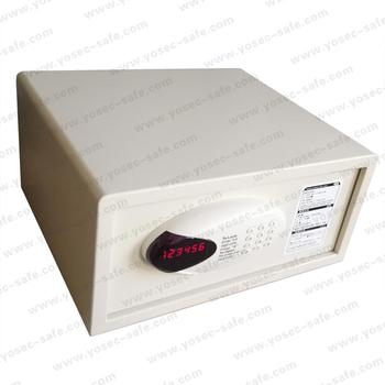 Electronic hotel safe deposit box and in-room safe