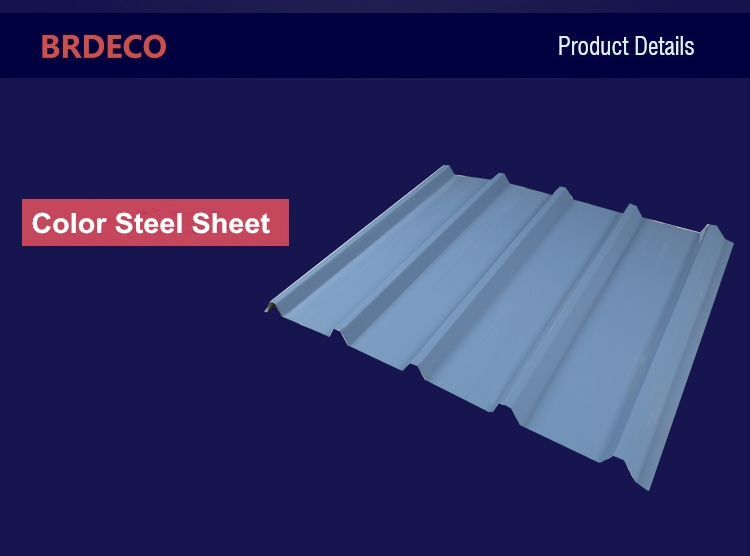 Supply Colored Galvanised Corrugated Steel Roofing Sheets