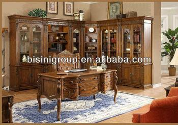 Mobili Ufficio Legno Massello : Di fascia alta in stile americano ufficio set da scrivania legno