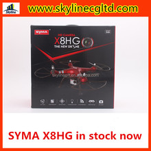 In stock 6Axis Gyro Syma X8HG Smart Height Hold 2.4GHz 4CH 1080P Camera for sale
