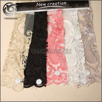 Trustworthy China Supplier guipure lace cord embroidery