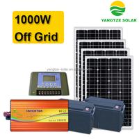 Low cost 1000 watt portable solar power system