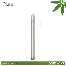 Newest Stainless steel single layer tube Metal cap disposable pen
