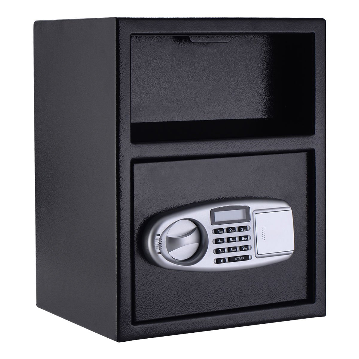 Moon Daughter Digital Safe Box Depository Drop Deposit Front Load Cash Vault Lock Home Jewelry 6mm Door Thickness