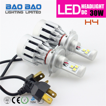 New Cree H4 H7 30w Led Headlight H7 Led Headlight All In One Creee ...
