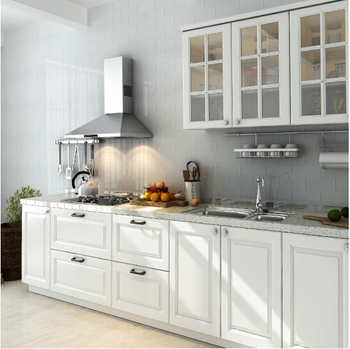 European American Style Wooden Kitchen Cabinet White Color Buy