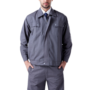 Custom autumn and winter factory work uniforms long sleeved uniforms