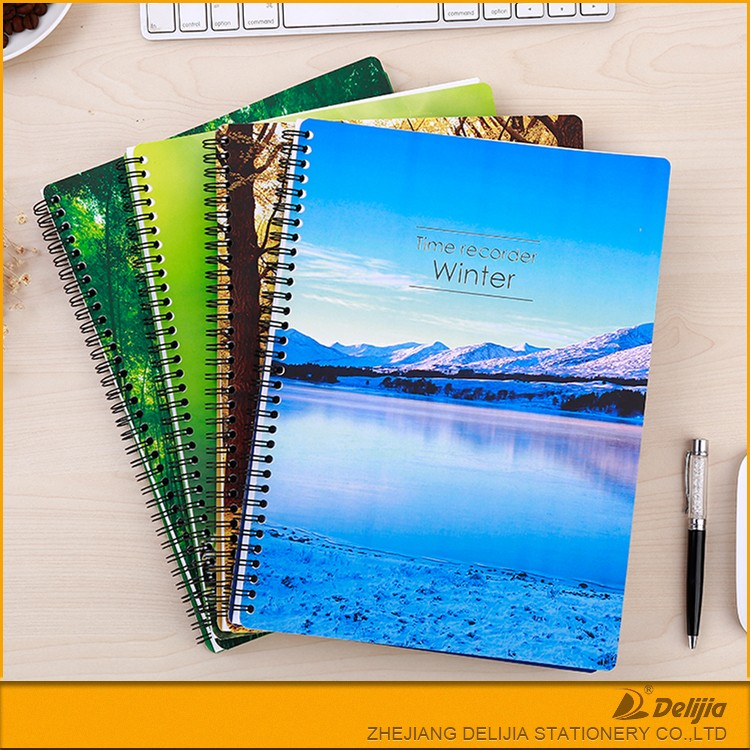Latest Design Printed Cheap Custom Notebooks Writing Pads