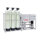 Industry 2 stage reverse osmosis water treatment equipment with sand carbon softener filter tanks