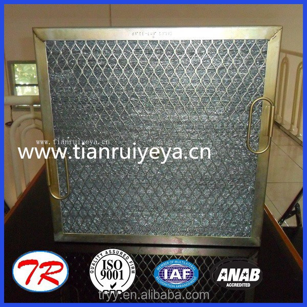 cat filters stainless steel wire panel air filter