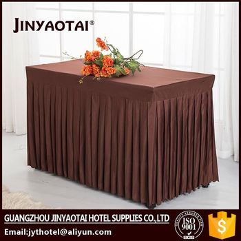 Table Skirt For Roundsquare Table And Hot Sales For Wedding In - Conference table skirts
