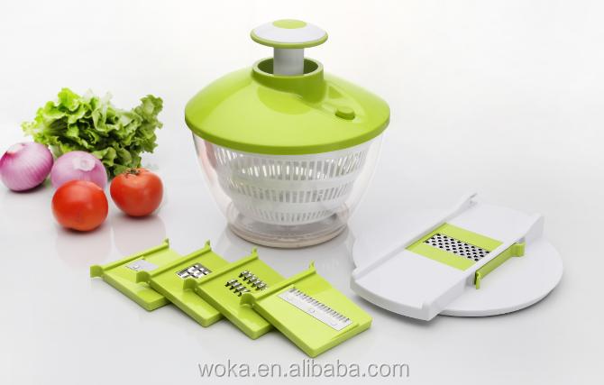 Mandolina spinner Ensalada mágica máquina de cortar de cocina ...