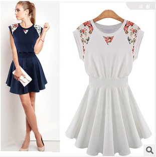 2014 Summer women sophisticated Mini Dress Casual Kpop ... - photo#29