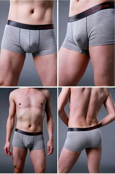 Men's underwear stocklot boxer briefs plain