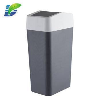 garbage lid small can table mini home trash waste swing desktop of roll bin basket
